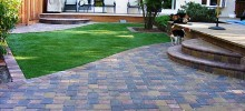 paver and step
